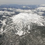 Mammoth Mountain From The Sky.
