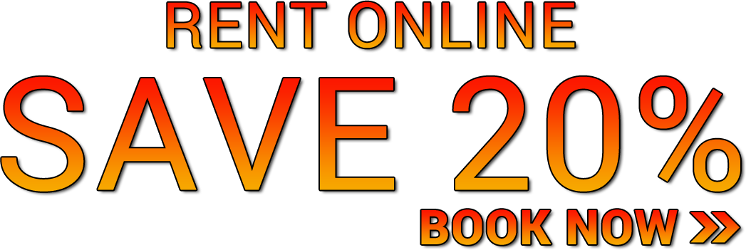 Book online and save 20%